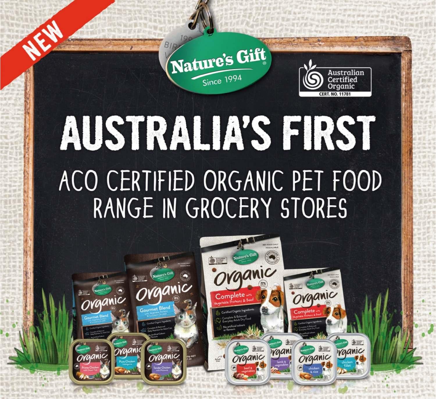 ACO Certified Organic Pet Food